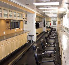 IMATS Los Angeles 2012 Pegasus Make-up Trailer: Interior long shot