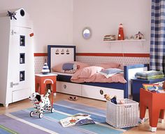 the boo and the boy: boys' rooms Boy Room, Kids Room, Bunk Rooms, Teenage Room, Games For Kids, Toddler Bed, Room Decor, Design, Furniture