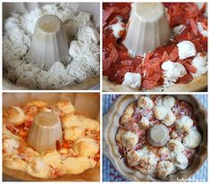 5 Minute Pizza Pull Apart Bread - Balancing Beauty and Bedlam. I can use homemade dough, the guys will love it! Yummy Appetizers, Appetizer Recipes, Snack Recipes, Cooking Recipes, Dinner Recipes, Great Recipes, Favorite Recipes, Good Food, Yummy Food