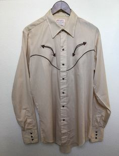 vintage Wrangler Western arrow shirt 70s by twinflamesboutique