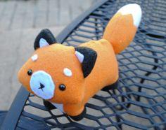 Fox Plushie - faite à ODER