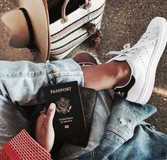.{i love this. She has her passport in hand! Ready to go adventure!