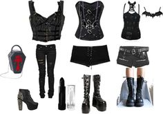 """""""daughter of darkness"""" by ravensterlinggoth ❤ liked on Polyvore"""
