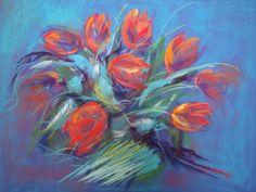 pastel 45x50 cm Marie-France OOSTERHOF