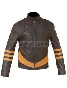 Vintage X-Men Wolverine Origins Leather Jacket