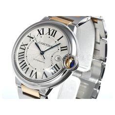 Replica Cartier Ballon Bleu Mens Watch Stainless Steel Swiss Automatic Movement Timpieces - FashionFilmsNYC.com