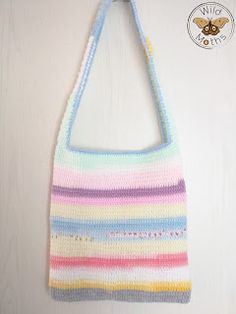 Wildmoths Handcrafted Creations: Bag in Pastel