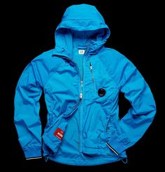 Goggles/stretch nylon/garment-dyed/drawstring hood/drawstring bottom/zip