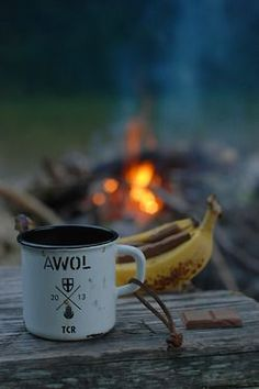 Coffee - check! Chocolate - check! Camp fire - check! Looks like you're all set for #bigwildsleepout