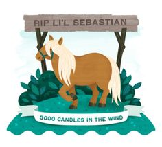 Li'L Sebastian we'll miss you.