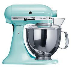 Buy KitchenAid Artisan Stand Mixer Online at johnlewis.com - I know this is not a dress or hair BUT I do need this in my life! :)