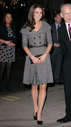 Kate looked pretty as can be in this coatdress by Jesire. via @AOL_Lifestyle Read more: http://www.aol.com/article/2016/04/18/new-book-on-royal-family-reveals-rivalry-between-camilla-and-kat/21346106/?a_dgi=aolshare_pinterest#fullscreen