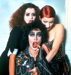 Rocky Horror Picture Show midnight showing. Of course I'll be dressing up