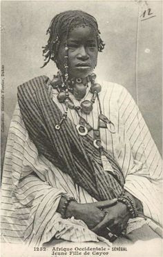Cayor girl, Senegal
