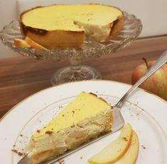 Glutenfreier Cheesecake mit Äpfeln Camembert Cheese, Gluten Free, Sweets, Cake, Food, Gluten Free Cooking, Gluten Free Recipes, Healthy Recipes, Easy Meals