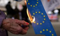 """First amendment and the flag bill making denigrating eu flag northern ireland allow the burning disrespectful and distasteful yes aroundRead More """"Is It Illegal To Burn Eu Flag"""" Flags Europe, The Bloc, European Flags, Go It Alone, Nation State, News Around The World, No Response, Crime, Angela Merkel"""