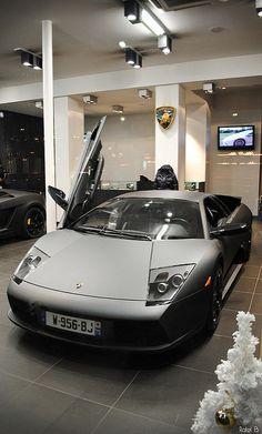 Lamborghini Murcielago LP580. | Zanetti Automobiles, Paris. | Flickr