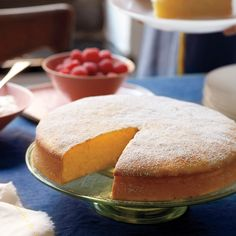 Whole lemons are the base of this rich, citrusy batter. Precooking the fruit removes the pucker and makes for an intensely flavored cake.