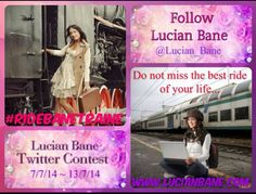 What's all the fuss about? Follow @Lucian_Bane #RIDEBANETRAIN TWITTER CONTEST Rules @bit.ly/1qDwhKP #share #domwars #lucianbane #ineffabledom