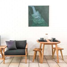 Tasmanian Oak Modern Australian Furniture - Made in Noosa Australia - Natural, Eco, Handmade
