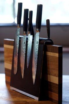Kai Shun Premier Range Knives |  Cape Town Chef Reuben Riffel