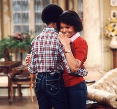 Janet Jackson and Todd Bridges on Different Strokes.