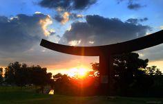 Monumento do Parque Ecológico da Pampulha, BH, Brazil