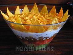 Meksykański Król Imprezy Curry, Nachos, Guacamole, Feta, Serving Bowls, Decorative Bowls, Appetizers, Cooking Recipes, Mexican