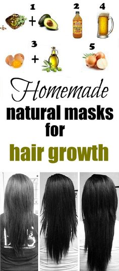 Home hair growth masks - Top Beauty 'n' Health