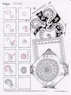 Image result for zentangle cadent variation