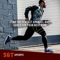 Find the perfect apparel and shoes for your next run! | SNT Sports