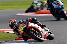 From Vroom Mag... Seventh row start at Silverstone for Alvaro Bautista