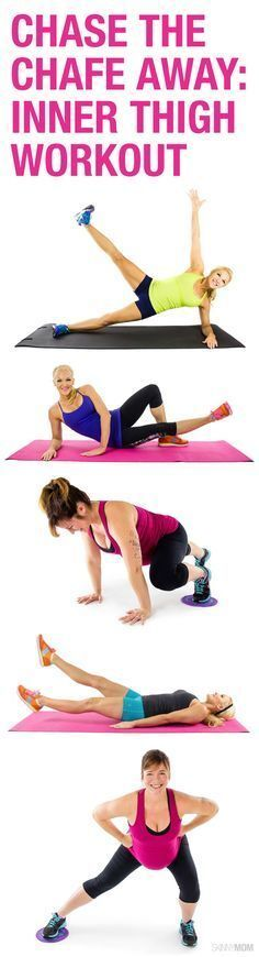 Inner Thigh Workout - They are tough to target, but not with these moves! #innerthighs