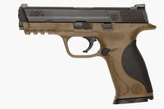 New for 2015, Smith & Wesson Corp. introduced something new in the M&P line: a Flat Dark Earth frame for the 9 mm and .40 S&W pistols.