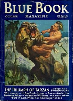 Blue Book - October 1931 - The Triumph of Tarzan 1/6