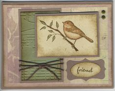 Touch of Friendship by DEBBIZ - Cards and Paper Crafts at Splitcoaststampers