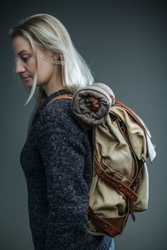 afbeeldingen van backpacks bags 121 Canvas leather Backpack beste SwZ55qz
