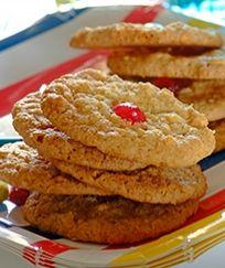 Rice Krispie Cookies - Kids Recipe from I Love Baking SA Cookie Desserts, No Bake Desserts, Cookie Recipes, Stork Recipes, Crispy Cookies, Baking Recipes, Rice Recipes, Sweet Bar, Rice Krispies