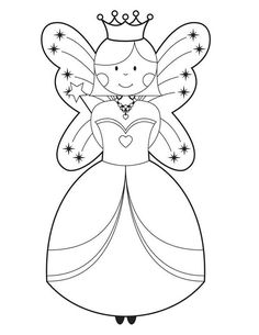 Fairy House Coloring Pages Godmother