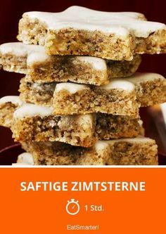 Saftige Zimtsterne - smarter - Zeit: 1 Std. | eatsmarter.de