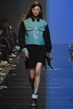 Fleamadonna Seoul Fall 2016 Fashion Show - The jacket makes me smile.