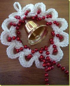 Crochet ornament pattern - use translate