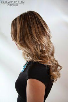 brown chocolate blonde hair