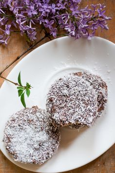 Chocolate coconut biscuits recipe