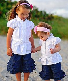 Another great find on #zulily! White Bow Belt Button-Up - Infant #zulilyfinds