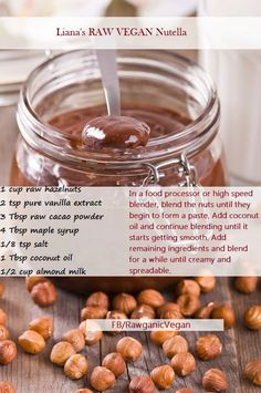 I just saw this on Facebook. I want to try this, but with carob powder. This sounds terrific!