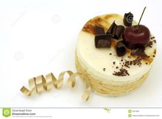 Pear And Caramel Mousse Cake Stock Photography - Image: 2537992