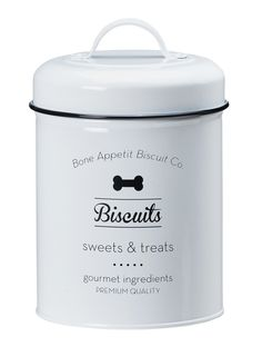 Puppy Love Pet Food and Biscuits Canisters