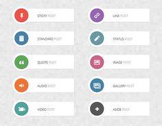 クリックしたくなるボタンデザイン、Photoshop無料PSD素材50個まとめ