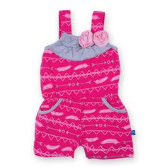 online shopping for Kickee Pants Baby Girls' Print Flower Romper With Pockets from top store. See new offer for Kickee Pants Baby Girls' Print Flower Romper With Pockets Toddler Outfits, Girl Outfits, Baby Bling, Baby Must Haves, Summer Romper, Kid Styles, Flower Prints, Fabric Flowers, Flower Power